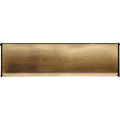 Heritage Brass Interior Letter Flap 300mm x 86mm Antique Brass
