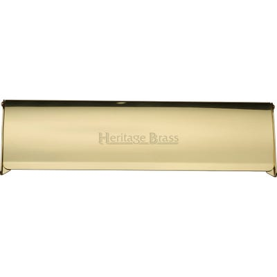 Heritage Brass Interior Letter Flap 300mm x 86mm Polished Brass