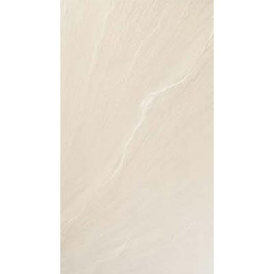Rak Slate White Porcelain Wall + Floor Tile 300mm x 600mm