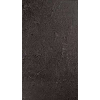 Rak Slate Black Porcelain Wall + Floor Tile 300mm x 600mm