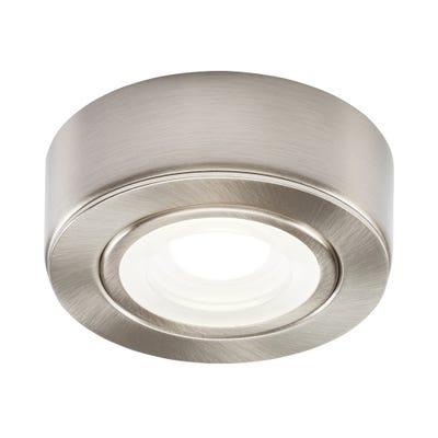 Knightsbridge LED Under Cabinet Light Brushed Chrome 4000K
