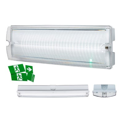 Knightsbridge IP65 4W LED Emergency Bulkhead