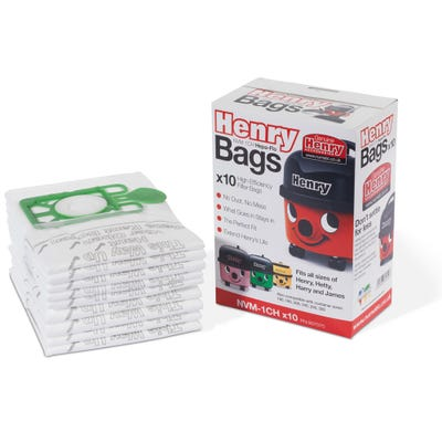 Numatic Hepflo Dust Hoover Bags Pack of 10