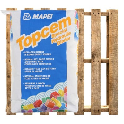 Mapei Topcem Special Hydraulic Binder For Screed 20Kg Pallet of 50