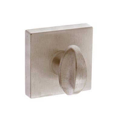 Forme Bathroom Turn & Release on Square Rose Satin Nickel