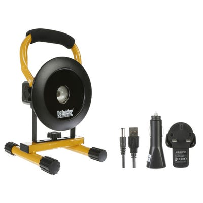 Defender LED 400 Floor Light Rechargeable