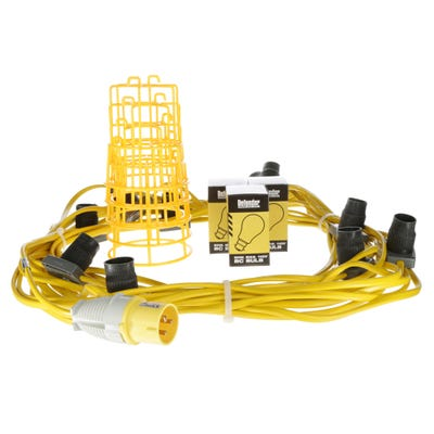 Defender 22M ES LED Festoon Kit (GLS Style Lamps) 110V 100W