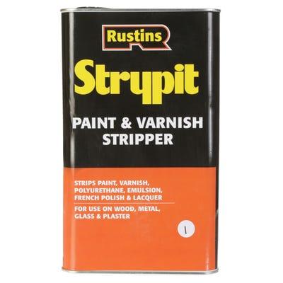 Rustins Strypit Paint Varnish Stripper 5L