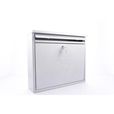Sterling Elegance Mailbox in Silver