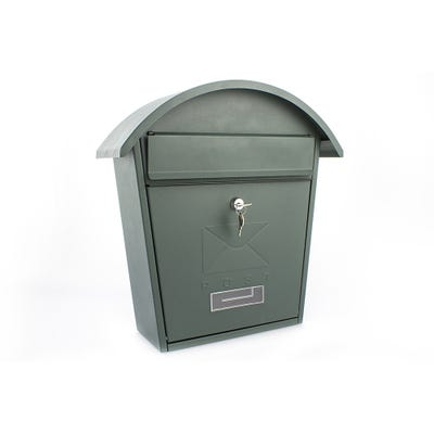 Sterling Classic 2 Mailbox in Matt Green