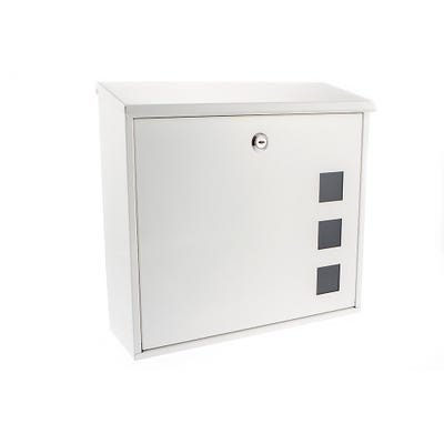 Sterling Aire Mailbox in White