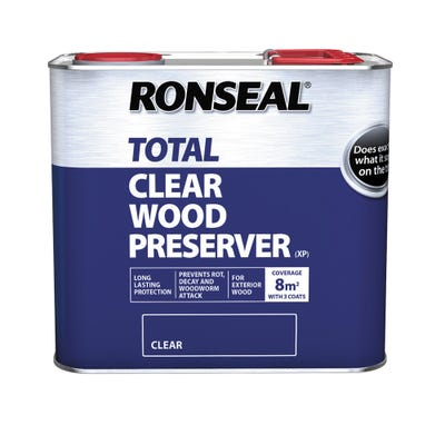 Ronseal Total Wood Preserver Clear