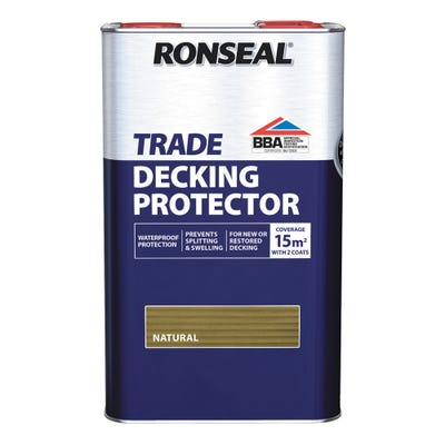 Ronseal Trade Decking Protector Natural 5L