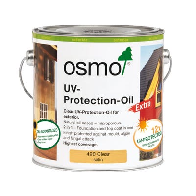 Osmo UV Protection Oil Clear Satin 2.5L