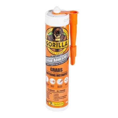 Gorilla Heavy Duty Grab Adhesive White 290ml