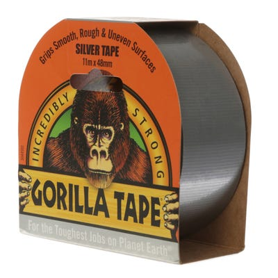 Gorilla Tape Silver 48mm x 11m
