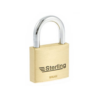 Sterling Solid Brass 40mm Padlock (Double Locking)