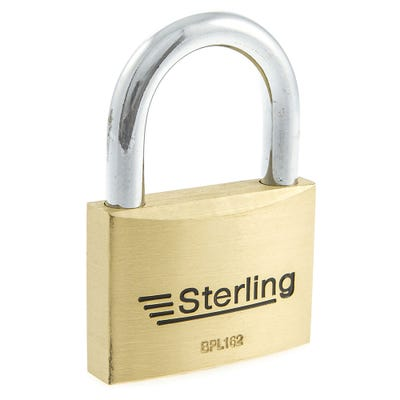 Sterling Solid Brass 60mm Padlock (Double Locking)