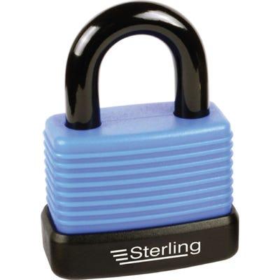 Sterling Weatherproof Padlock Aluminium 48mm (Double Locking)