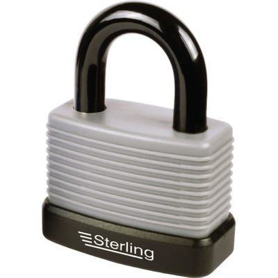 Sterling Weatherproof Padlock Aluminium 57mm (Double Locking)