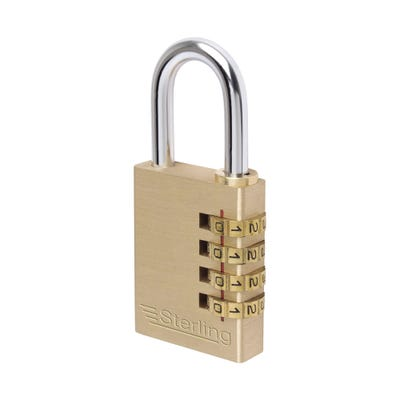 Sterling Solid Brass 40mm Combination Padlock
