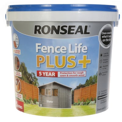 Ronseal Fence Life Plus Slate 5L