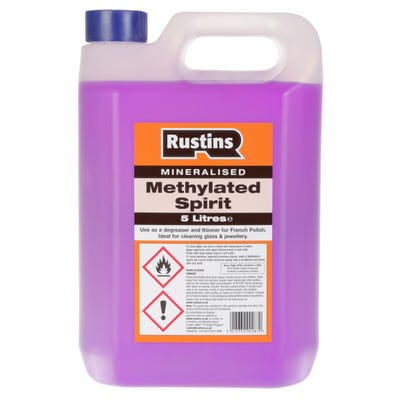 Rustins Methylated Spirit 5L