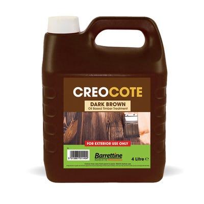 Barrettine Creocote Dark Brown 4L