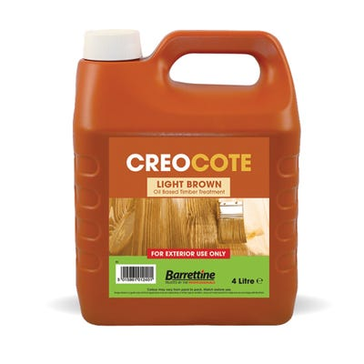 Barrettine Creocote Light Brown 4L