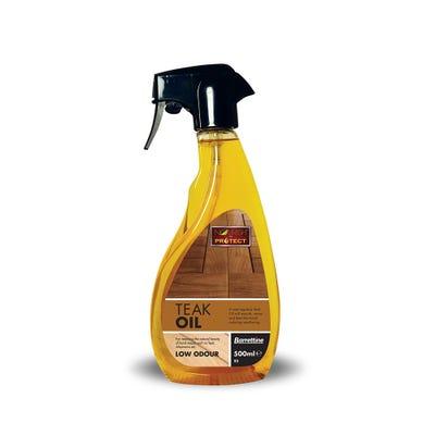 Barrettine Teak Oil Spray 500ml