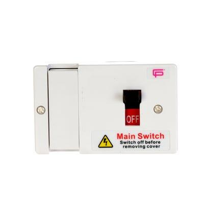 FuseBox 80A Fused Main Switch & Shroud
