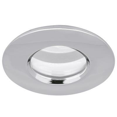 Aurora IP65 GU10 230V Non-Fire Rated Shower Downlight - Chrome EN-DLM411PC