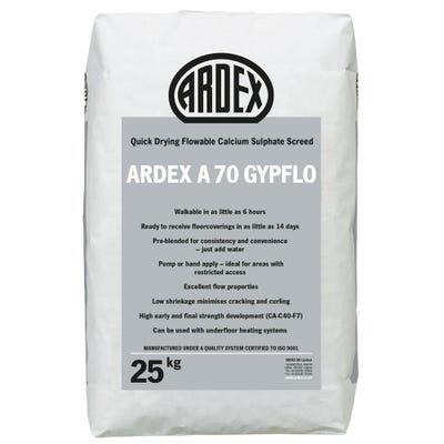 Ardex A 70 Gypflo Screed 25Kg