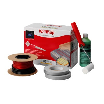 Warmup Loose Wire Electric Underfloor Heating Kit 4.4m²