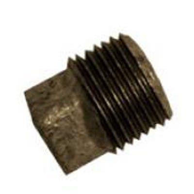 Malleable Black Iron Plug 1''