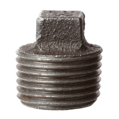Malleable Black Iron Plug 13mm