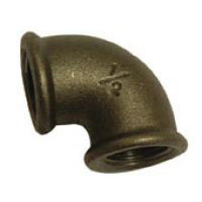 Malleable Black Iron Female Elbow 19mm