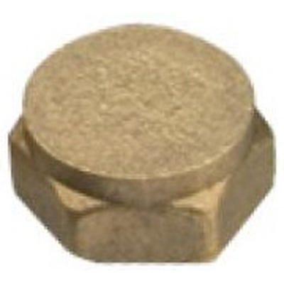 Compression Brass Cap 13mm