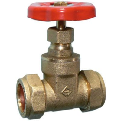 Brass Light Pattern Gate Valve 15mm