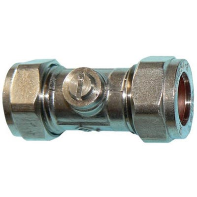 Ballofix Valve Chrome Plated 22mm