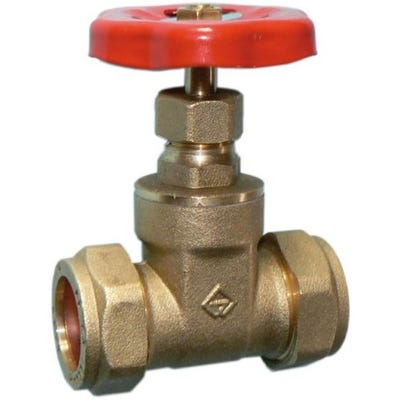 Brass Light Pattern Gate Valve 22mm