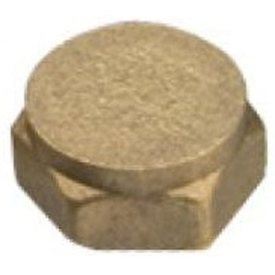 Compression Brass Cap 19mm