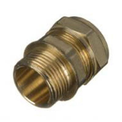Compression Male Coupling 15mm x ½''