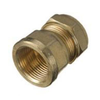 Compression Female Coupling 22mm x 1''