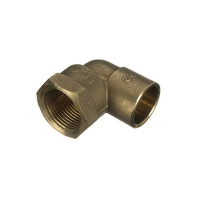 End Feed Female Elbow 15mm x ½''