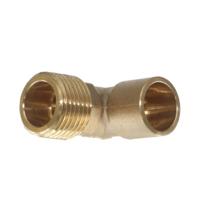 End Feed Male Elbow 15mm x ½''