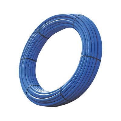 25mm Polypipe MDPE Pipe Coil 50m Blue 2550BU