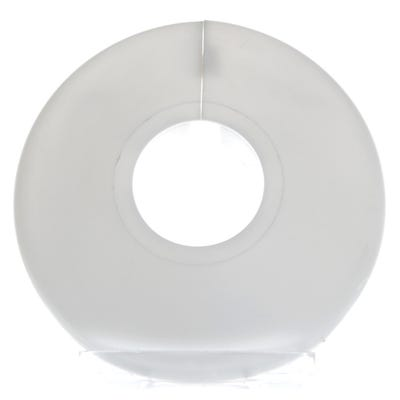 Pipe Collars White 22mm