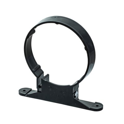 110mm Polypipe Soil Pipe Clip Black SC44B