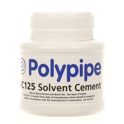 125ml Polypipe Solvent Cement Tin SC125